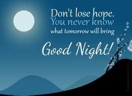 good night messages msgme