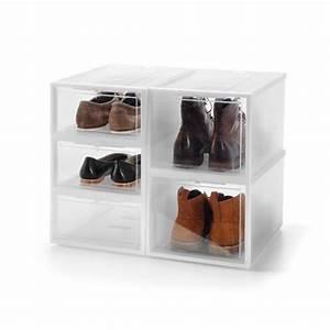 Boite De Rangement Chaussure : chaussures rangement boite carton ~ Dailycaller-alerts.com Idées de Décoration