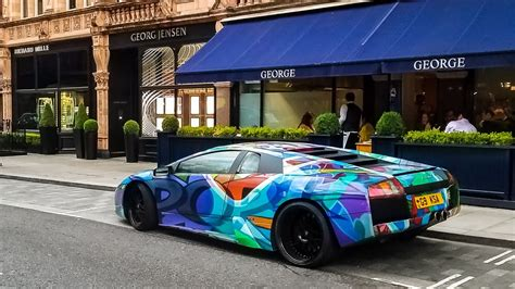 fake lamborghini vs real found a fake lamborghini murcielago in london youtube