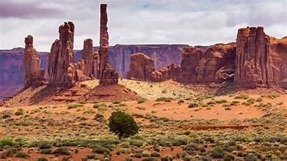 Desert Arizona Desktop Landscape Valley Utah United