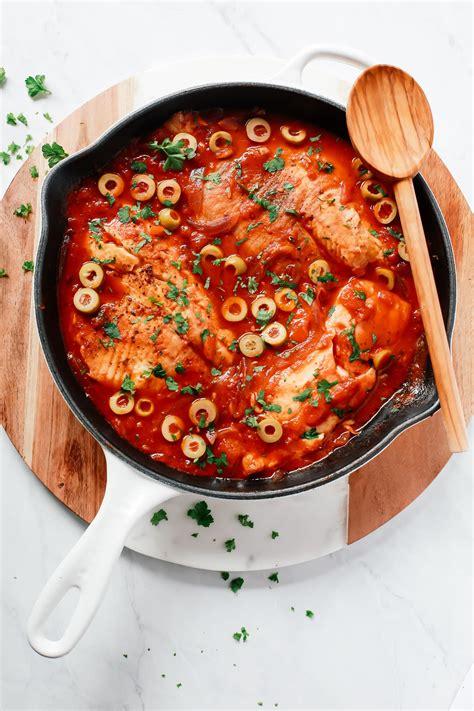 Kitchen Recipes by 3 Ingredient Tilapia Skillet Recipe Primavera Kitchen