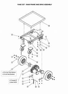 Main Frame And Drive Assembly