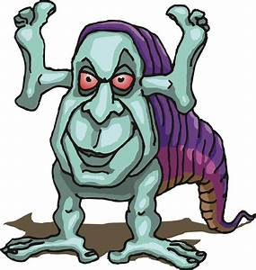 Scary Cartoon Monster Images & Pictures - Becuo - Cliparts.co