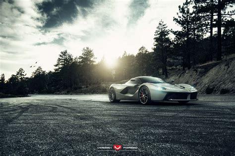 Ferrari Laferrari With Vossen Wheels