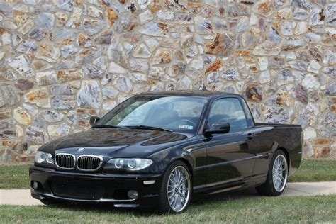 bmw truck pictures this is just wrong e46 bmw 330i truck
