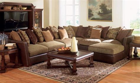 beautiful sectional sofa mixes spanish mediterranean  california mission style   cool