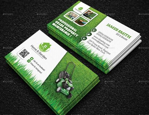 14+ Landscaping Business Card Designs & Templates
