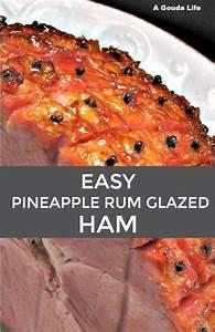 Easy Pineapple Rum Glazed Ham