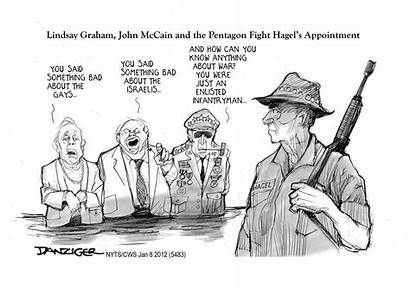 Cartoon Vietnam Veteran Critics War Unsung Hero