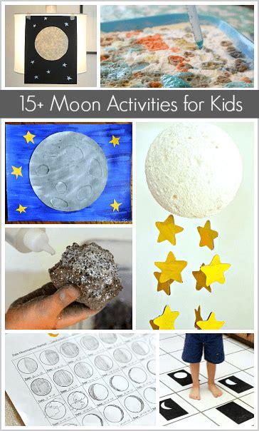 astronomy  kids moon crafts  activities buggy