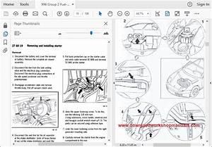 Porsche 996 Workshop Repair Manual Download