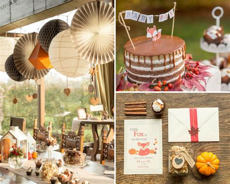 guide  throwing  epic fall baby shower