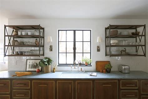 Keep Everything At Hand With Kitchen Wall Shelves  Best. Kitchen Makeover Houzz. Kitchen Design Basics. Green Kitchen Beetroot Bourguignon. Modern Kitchen With Rustic Elements. Retro Kitchen Colors. Kitchen Tile Visualizer. Kitchen Curtains Outlet. Kitchen Countertops Laminate Sheets