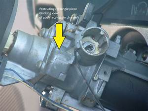 How Do You Remove The Ignition Key Lock Cylinder From The