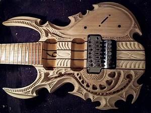 Carved Guitar Body - Neatorama