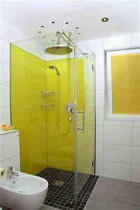 Glas Statt Fliesenspiegel : glasr ckwand bad eckventil waschmaschine ~ Markanthonyermac.com Haus und Dekorationen