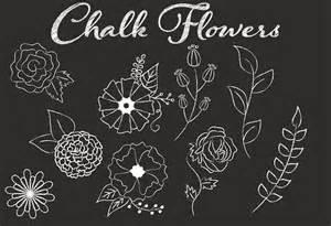 chalkboard wedding program clip chalk flower illustrations illustrations