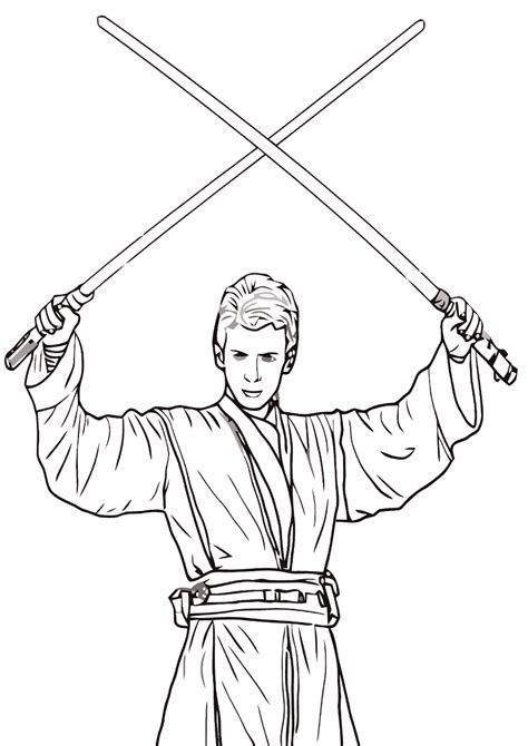 jedi coloring pages coloring pages    print