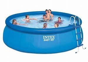 Easy Set Pool : intex 15 39 ft round x 48 deep easy set above ground swimming pool model 28167eh ebay ~ Orissabook.com Haus und Dekorationen