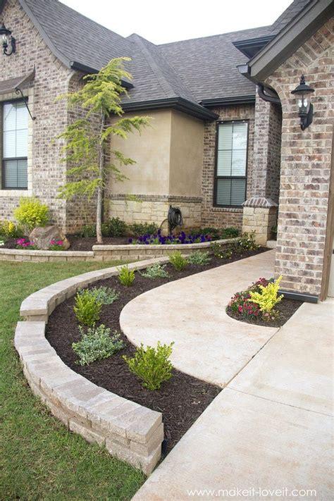 ideas  front yard landscaping  pinterest yard landscaping front landscaping