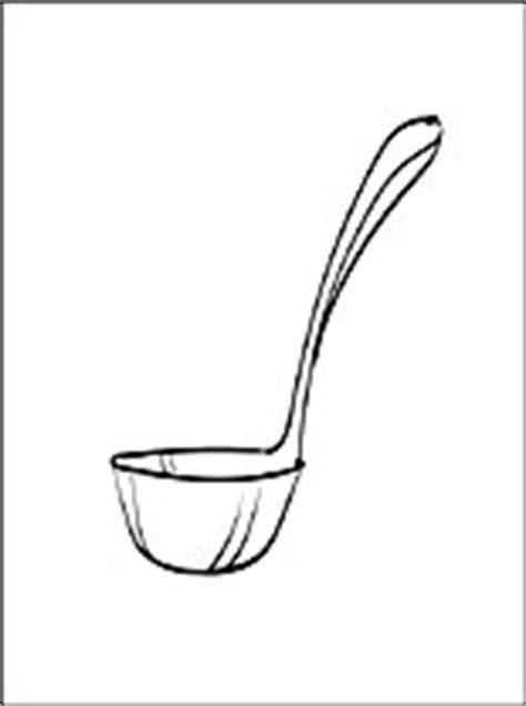 ladle coloring page coloring pages
