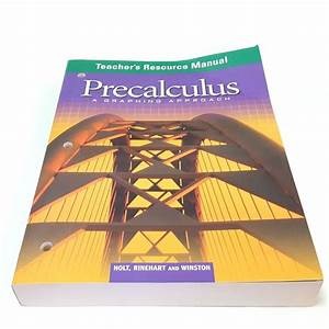 Precalculus Calculus Teachers Resource Manual Graphing