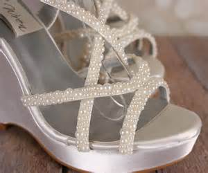 ivory wedge wedding shoes ivory wedding shoe wedges strappy sandal bridal heels with multi sized ivory pearl accents 60