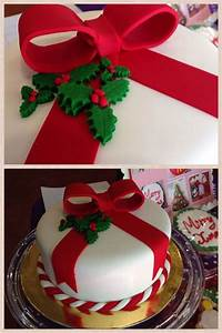 73 Inspiring Christmas Cake Decoration Ideas - Handy Home Zone