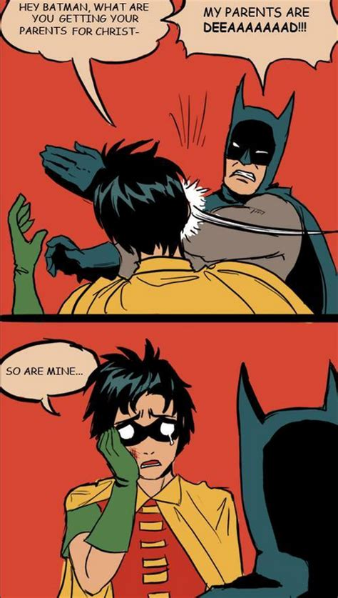 Batman Slapping Robin Meme Maker - image 545389 my parents are dead batman slapping robin know your meme