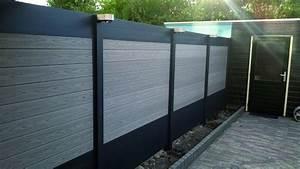 Panneau Composite Aluminium : panneau ideal en bois composite fiberon ~ Edinachiropracticcenter.com Idées de Décoration
