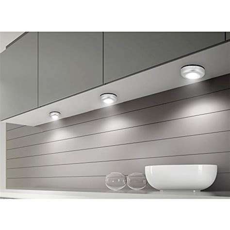 battery operated lights for kitchen cabinets le led battery operated stick on tap on light mini 9711