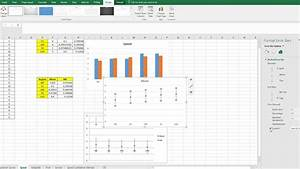 How To Make A Scatter Plot In Excel Adding Confidence Intervals To Scatter Plot Of Means In
