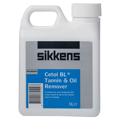sikkens cetol bl tannin remover paint world pty