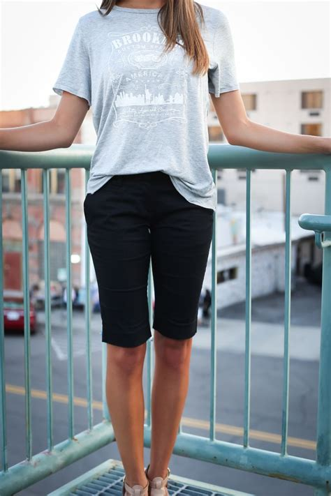 Knee Length Shorts For Girls | www.pixshark.com - Images Galleries With A Bite!