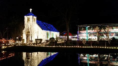 acadian village christmas lights lafayette la 10 light displays in louisiana that are magic