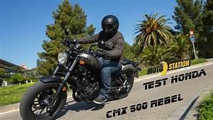 Honda Cmx 500 Rebel : essai honda cmx 500 rebel youtube ~ Medecine-chirurgie-esthetiques.com Avis de Voitures