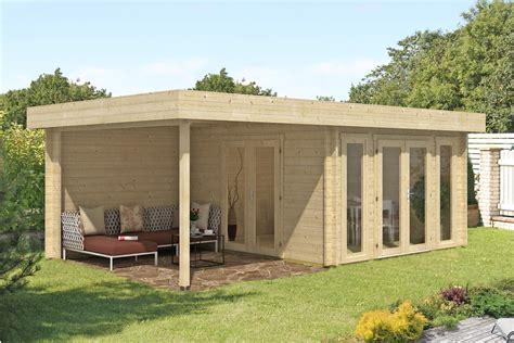 Modernes Gartenhaus Flachdach by Flachdach Gartenhaus Modell Corsica 44 Iso Corsica 44 Iso