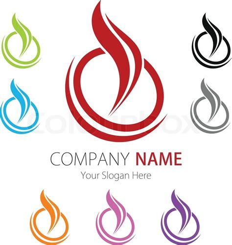 company business logo design vector stock vector colourbox