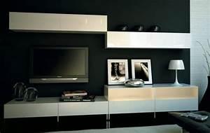 Meuble De Tele Design : meuble tv quelques exemples qui vous regadent ~ Teatrodelosmanantiales.com Idées de Décoration