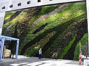 23-story Atrium Living Wall