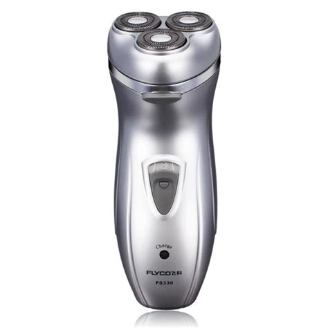 buy flyco fs triple blade electric shaver rechargeable rotary razor