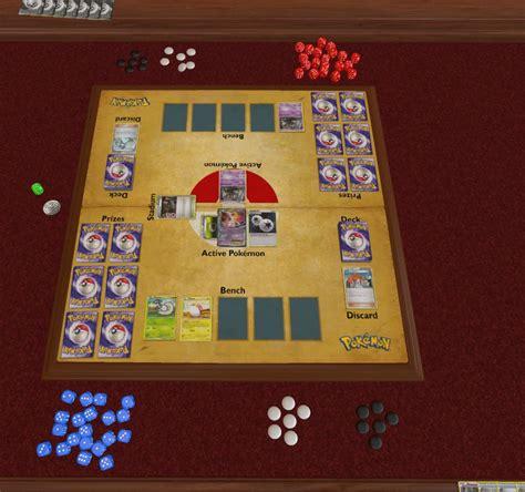 pokemon tcg play mat tabletopsimulator