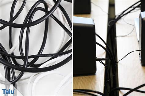 Kabel Verstecken Schreibtisch by Kabel Verstecken So Beseitigen Sie L 228 Stigen Kabelsalat