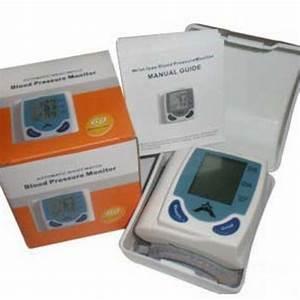 Portable Home Digital Wrist Blood Pressure Monitor Heart
