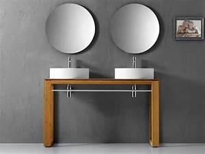 Waschbecken Auf Tisch : waschtisch massivholz echtholz natur 130cm lineabeta f r ~ Michelbontemps.com Haus und Dekorationen