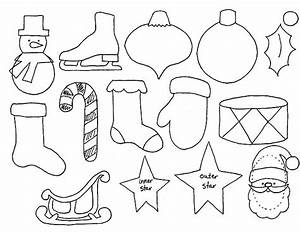 Advent Calender Ornament Templates, good to use to make ...