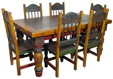 mexican wood furniture at the galleria