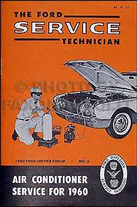 1960 Thunderbird Body  Trim  U0026 Sealant Assembly Manual Reprint