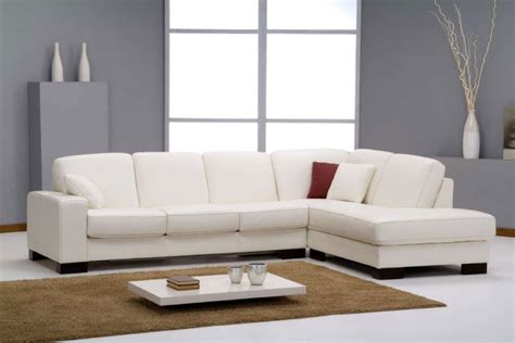 canap convertible italien canap d 39 angle en cuir blanc avec couchage sofamobili