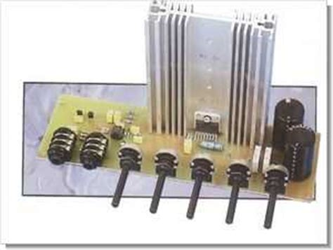 Tda Guitar Amplifier Tone Control Preamp
